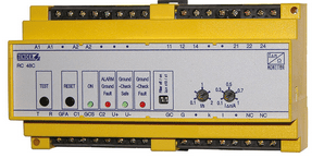 Monitor de corriente diferencial residual Grupo ORS Minería