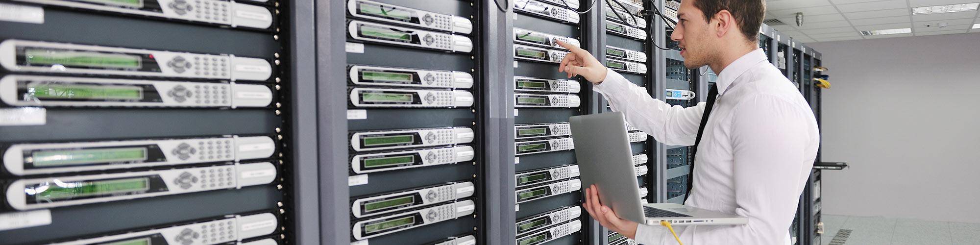 Servicio libre de interrupciones en la sala de servidores