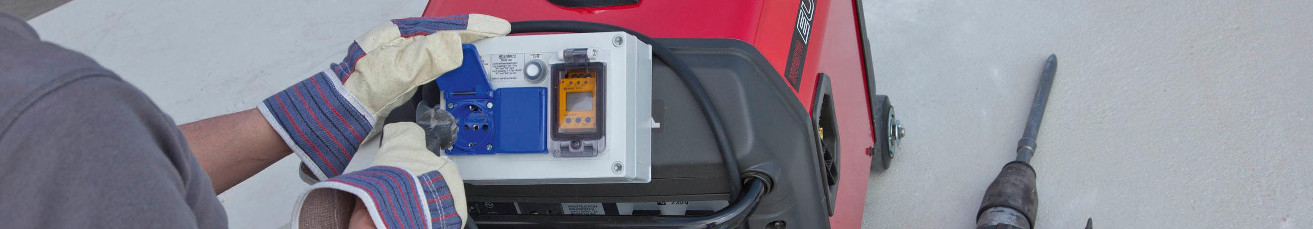 Generadores eléctricos móviles - portátiles