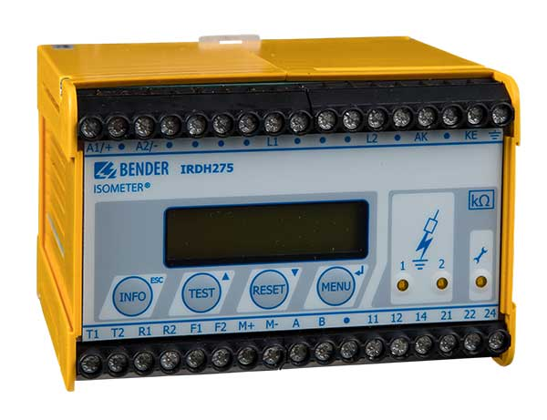 ISOMETER® IRDH275BM-7 con AGH675-7/AGH675S-7MV15