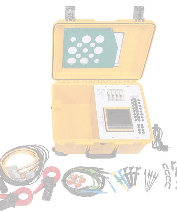 LINETRAXX® PEM735-Maletín de medida